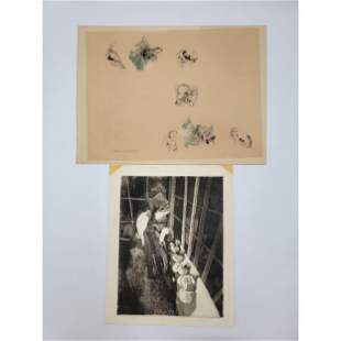 Guillaume Azoulay? Unusual Lithograph Plus 1