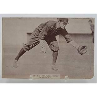 Baseball, Rare Cabinet Card Of R.C Hoblitzell 1st Base