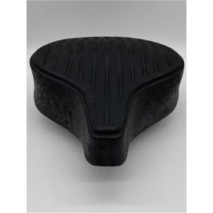 Vintage Persons Leather Bicycle Seat