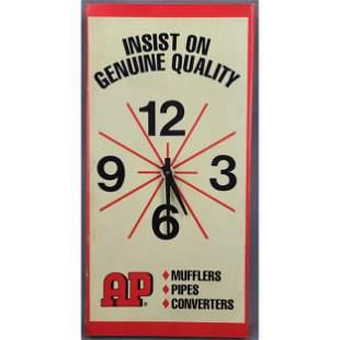 Vintage Quartz Advertising Clock