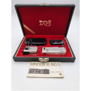 Vintage Minolta -16 MG Spy Camera