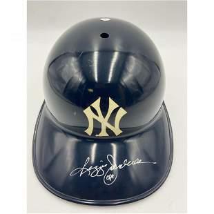 Authentic MLB Reggie Jackson Autographed Batting Helmet
