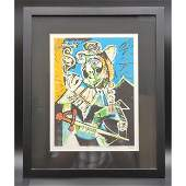 Marina Picasso Signed & Numbered Lithograph