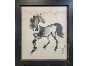 A Vintage Chinese Watercolor? Xu Beihong?