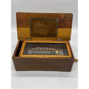 Antique 19th Century Swiss Music Box