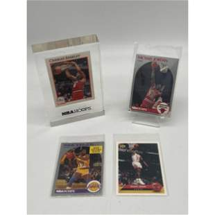 Lot Of 4 Highly Collectible NBA Cards 1990 Michael Jord