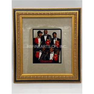 """""""Champions Forever"""" Autographed Boxing Photo W/ COA"""