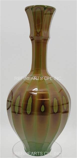 RARE Lythyalin Vase Friedrich Egermann 19th C Museum Qu
