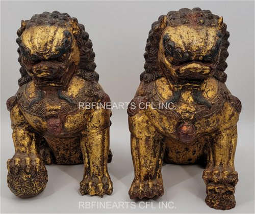 Ming Dynasty Gilt Bronze