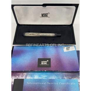 Limited Edition Montblanc Fountain Pen