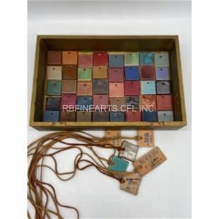 UND Trial Glaze Tiles