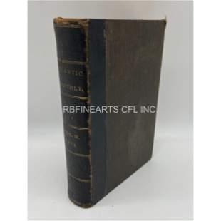 Antique Atlantic Monthly 1874 Hardcover Book Volume XXX