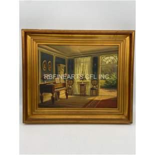 Frederik Wilhelm Svendsen (Danish, 1885–1975) O/C Paint