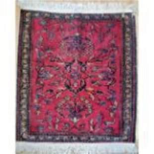 A Small Persian Antique Rug