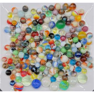 Grouping Of Vintage Marbles