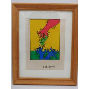 Keith Haring (AFTER) Drawing