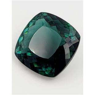 A Very Large Green Gem Stone 38 Grams