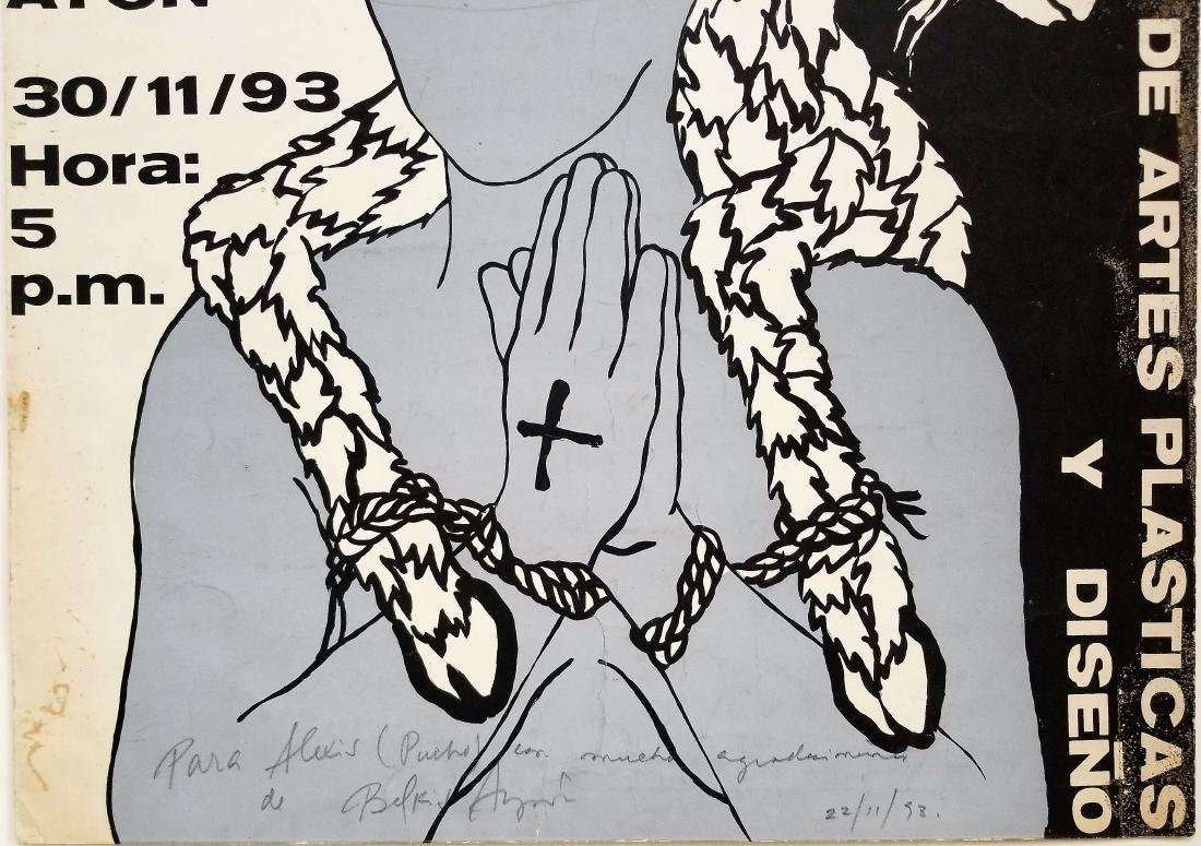 "Belkis AYON (1967-1999). ""Siempre vuelvo"". Cuban art. - 2"
