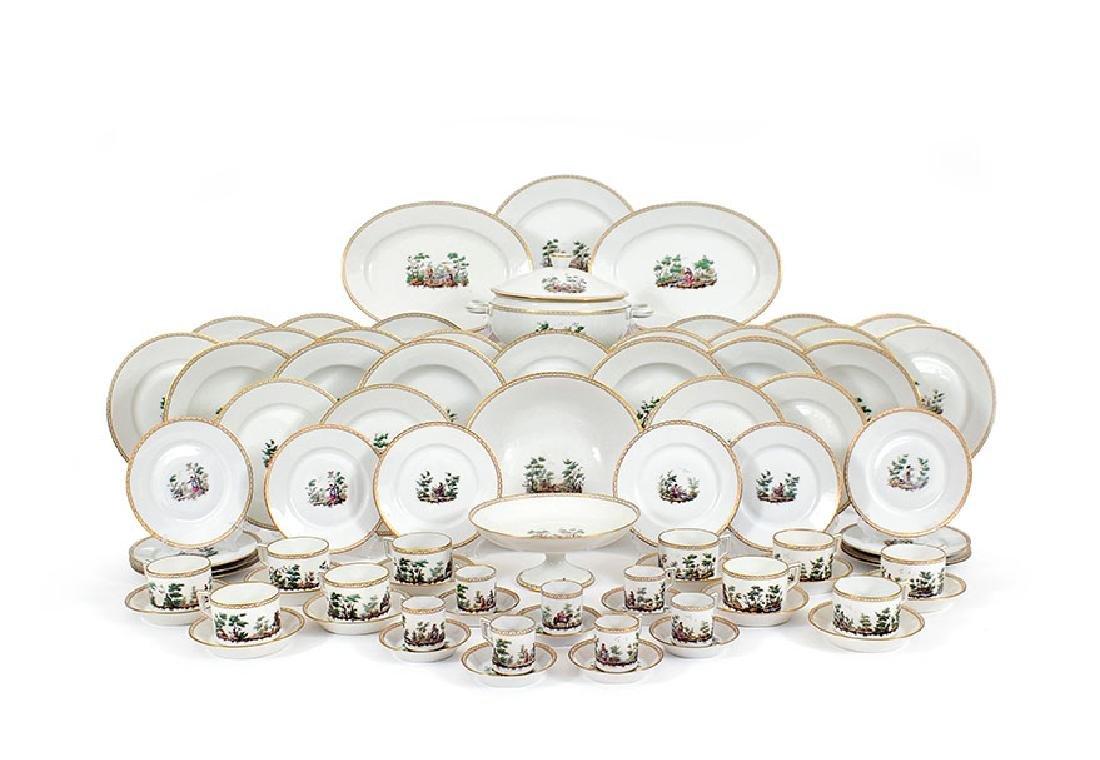 An Italian porcelain dining set, Richard Ginori
