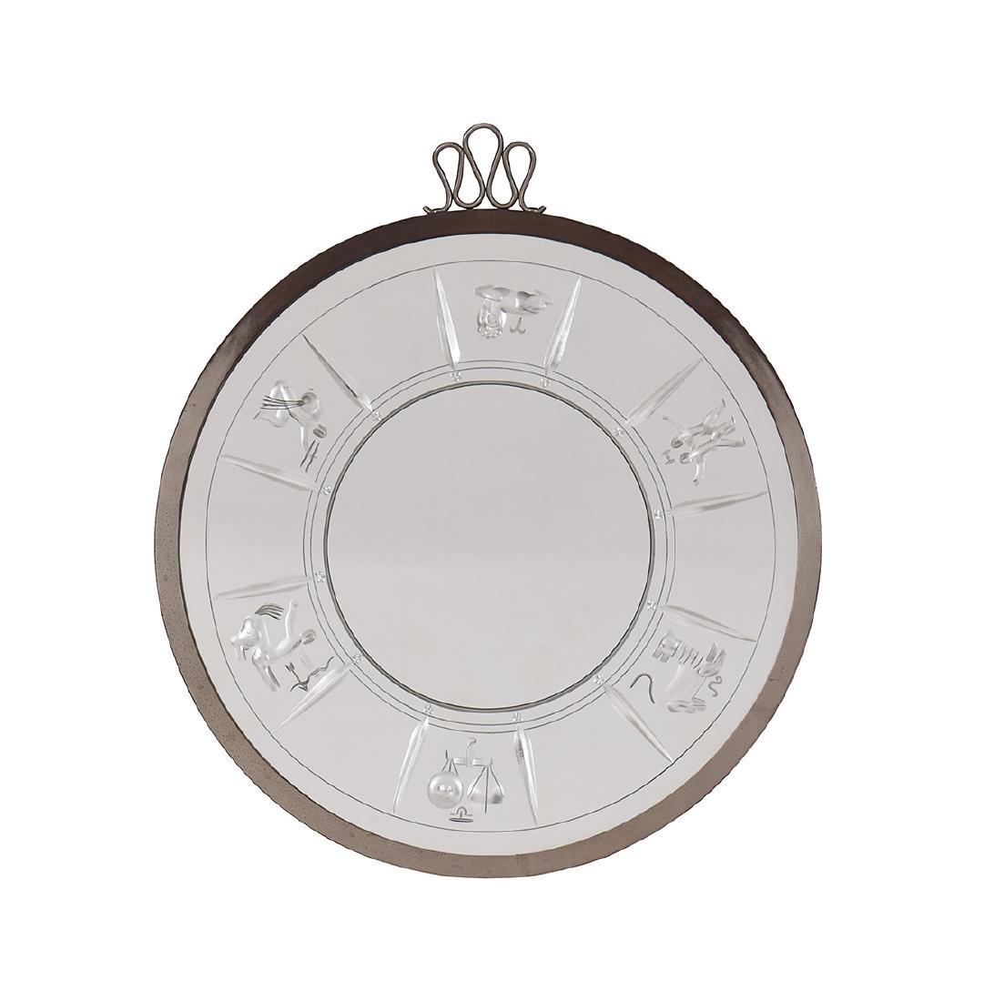 An Italian Zodiaco mirror