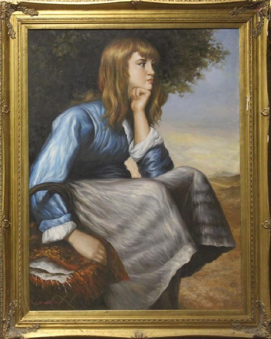 Portrait - Original by J. Mar