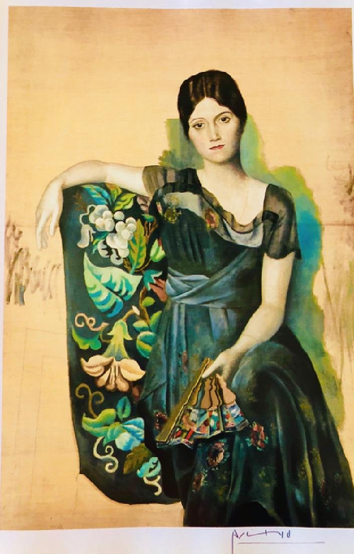 Portrait of Olga in an Armchair - 2