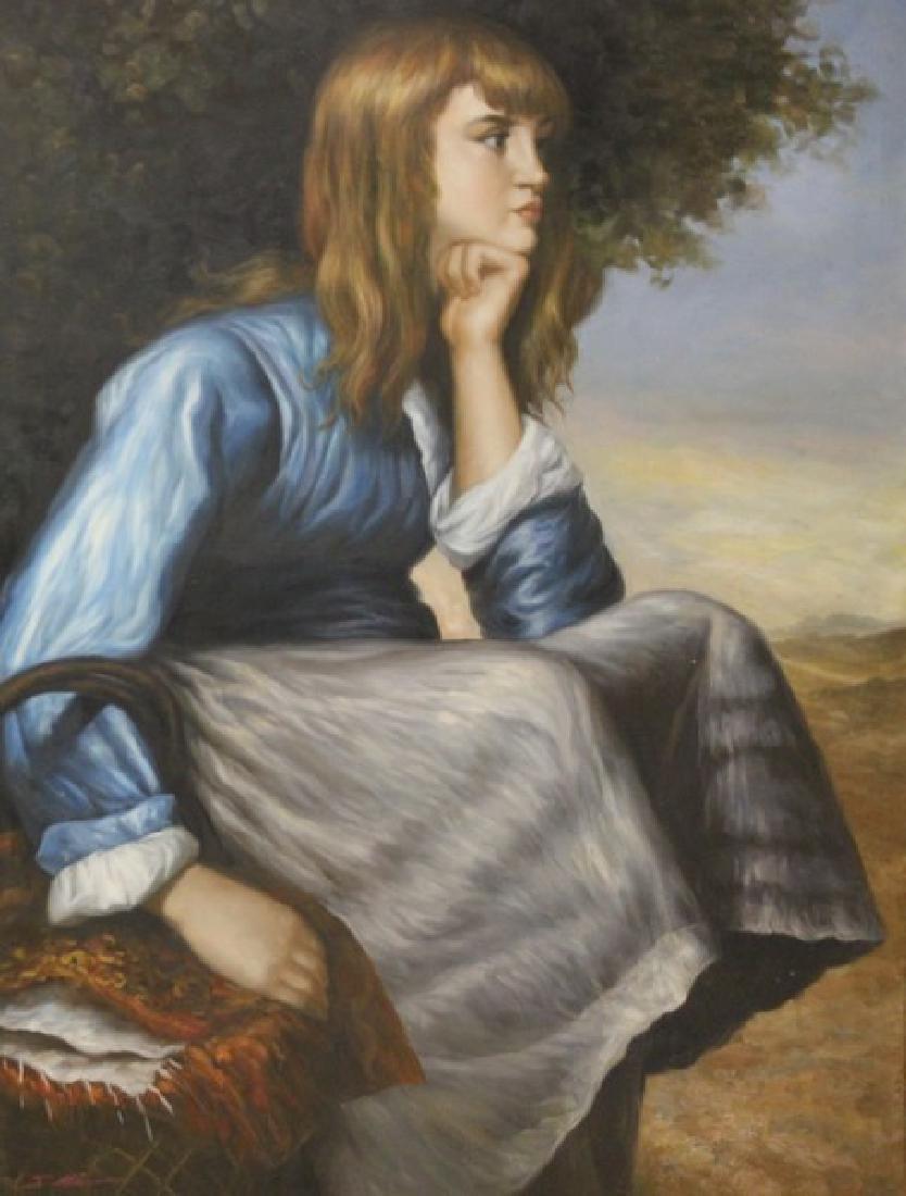 Portrait - Original by J. Mar - 2