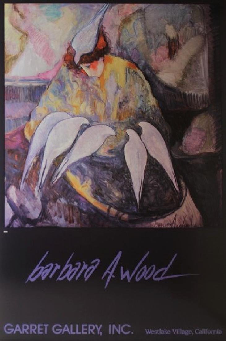 Signed Barbara A. Woods - Doves