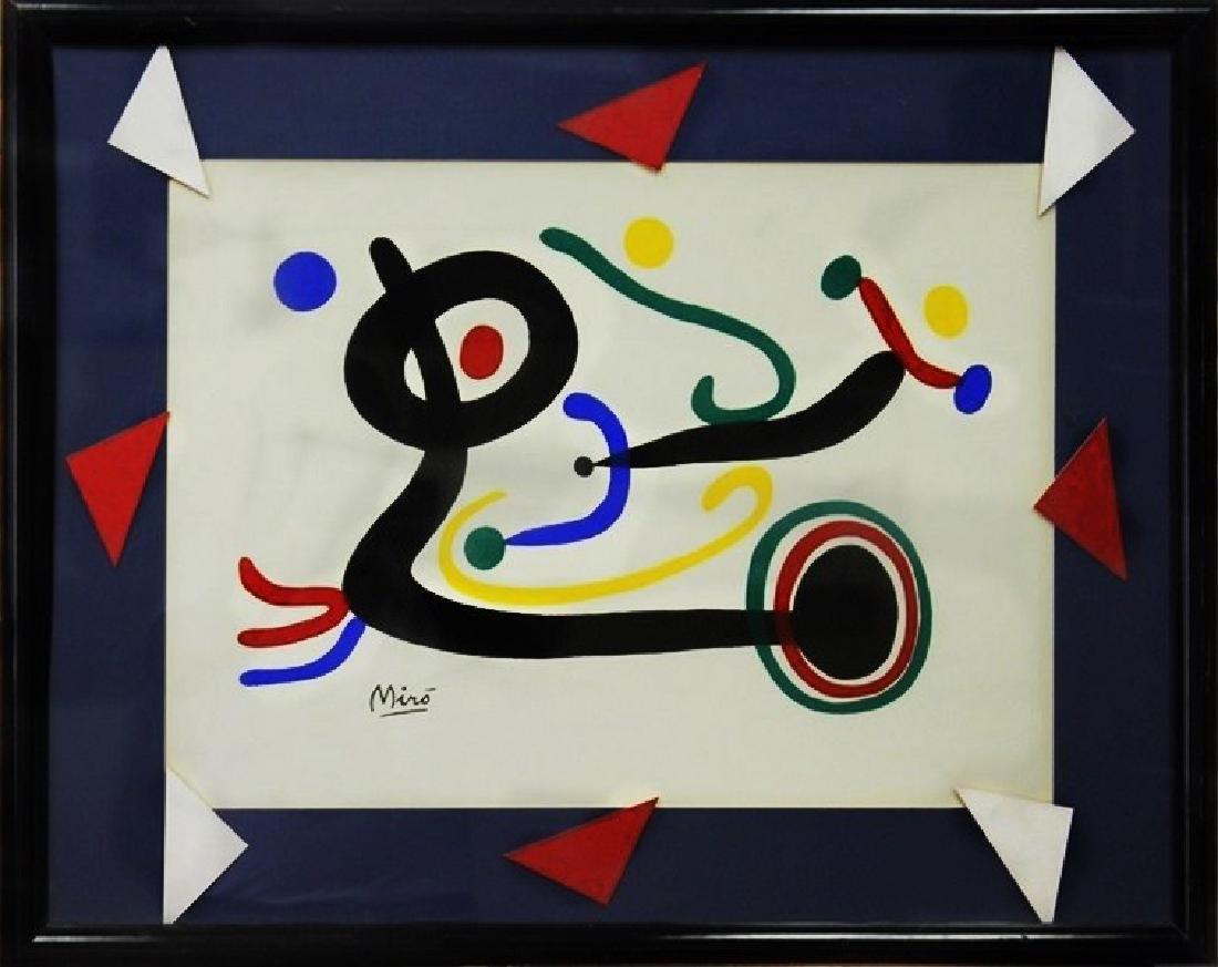 Composition - Lithograph - Joan Miro