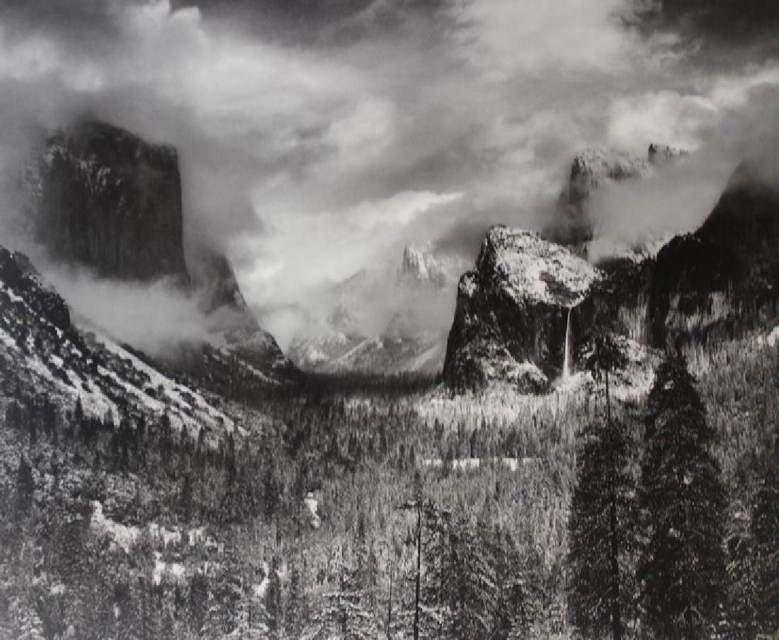 Fine Art Print Ansel Adams - Yosemite The Range of - 2