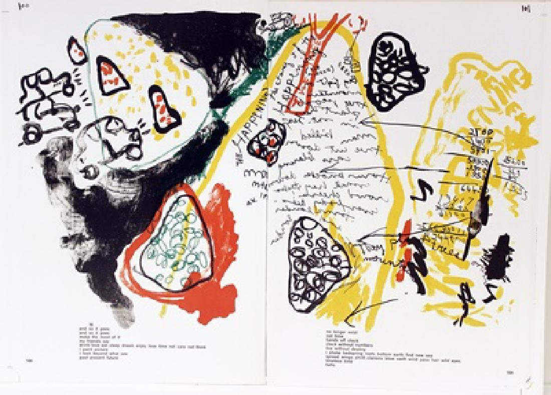 Original Lithograph Allan Kaprow