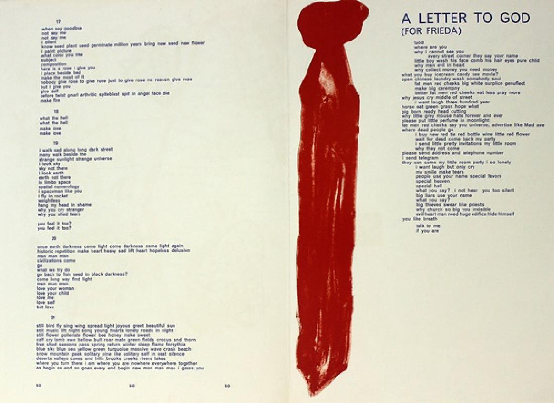 Original Lithograph Allan Kaprow - 7