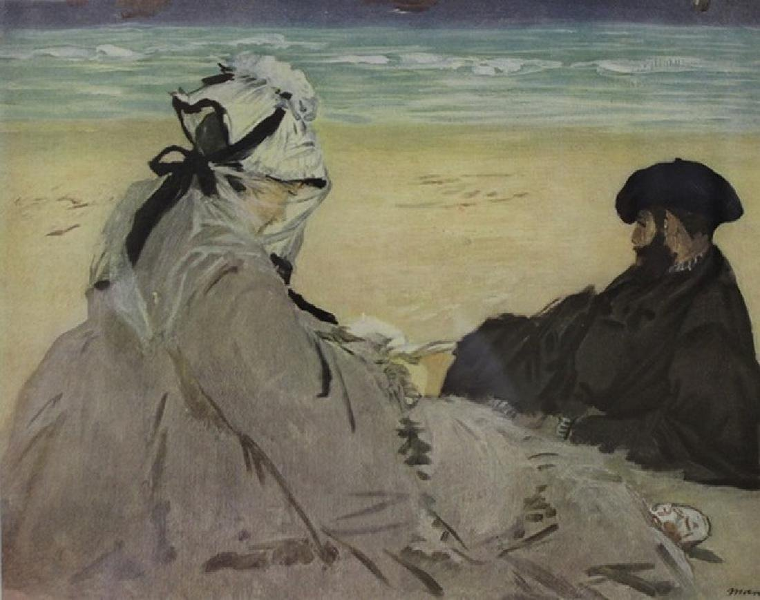 On The Beach 1873' - Edouard Manet - 2