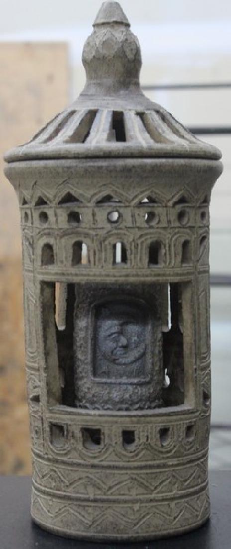Stone Candle Holder