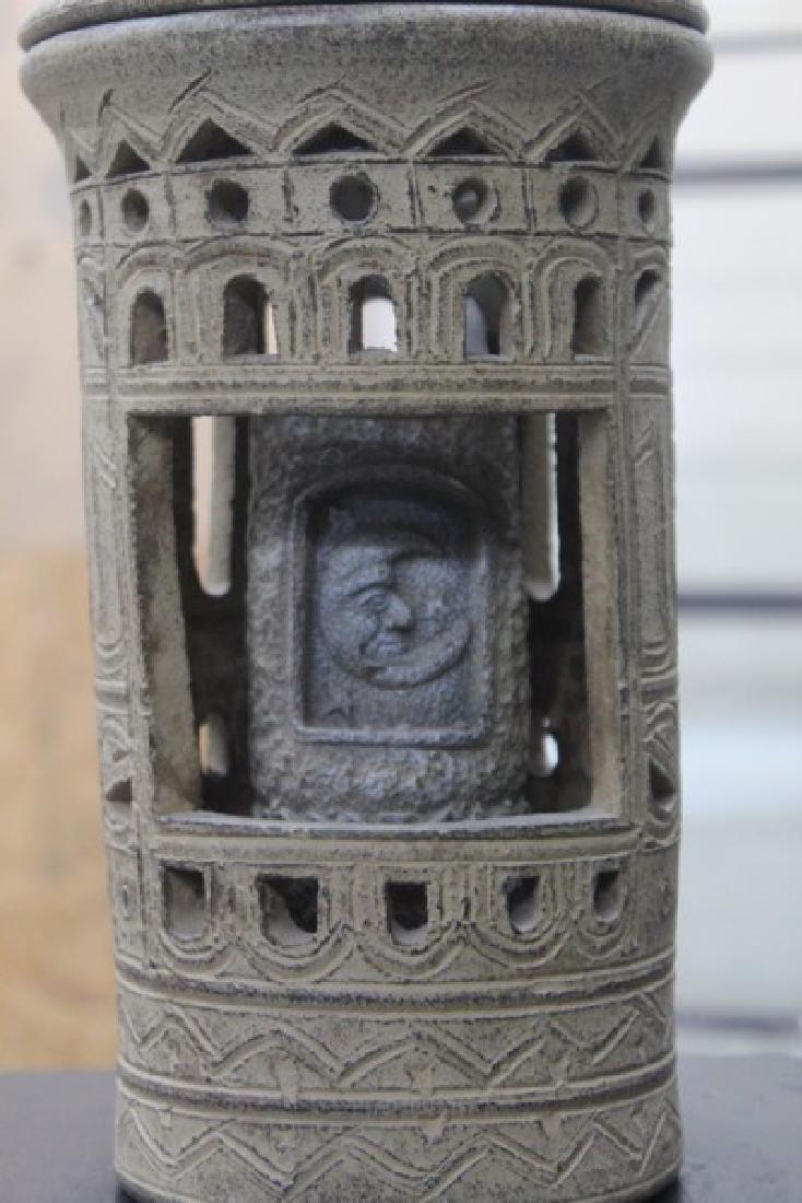 Stone Candle Holder - 2