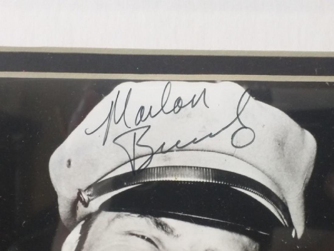 Marlon Brando - Authentic Signed Photo - 2