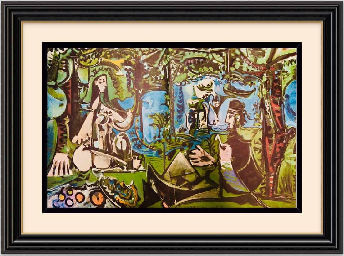 Lithograph Print Pablo Picasso