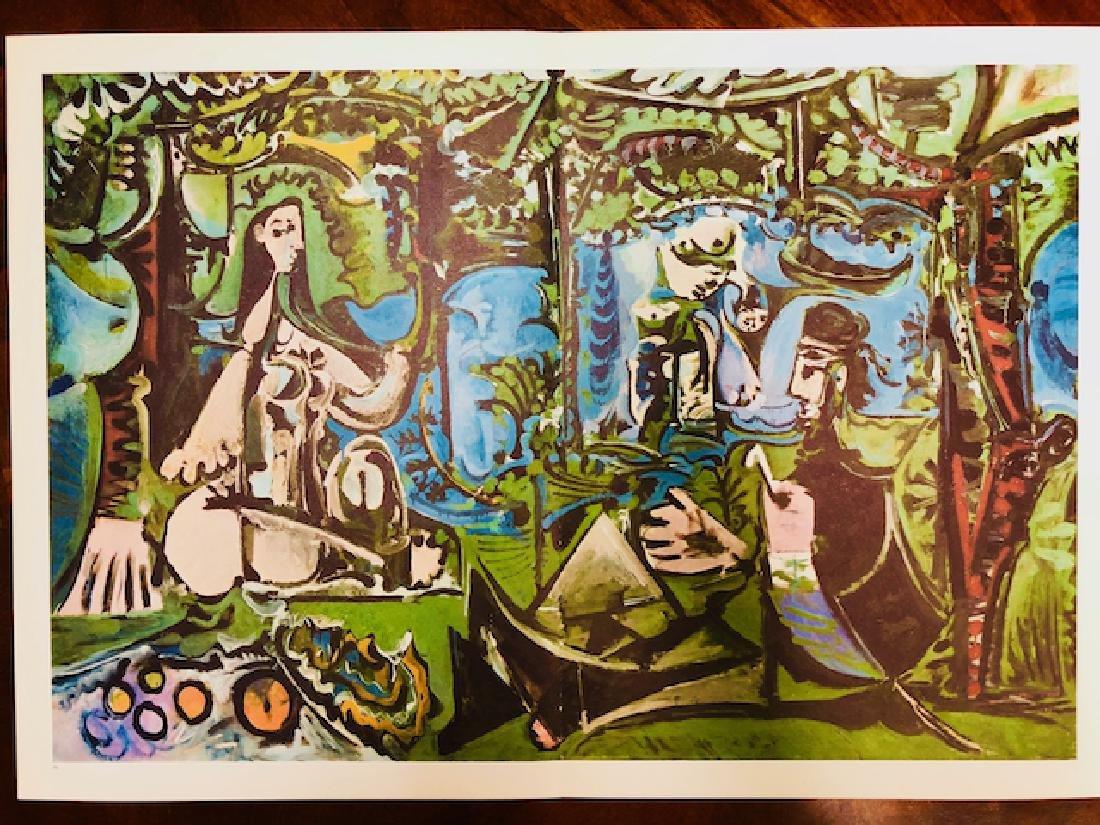Lithograph Print Pablo Picasso - 2