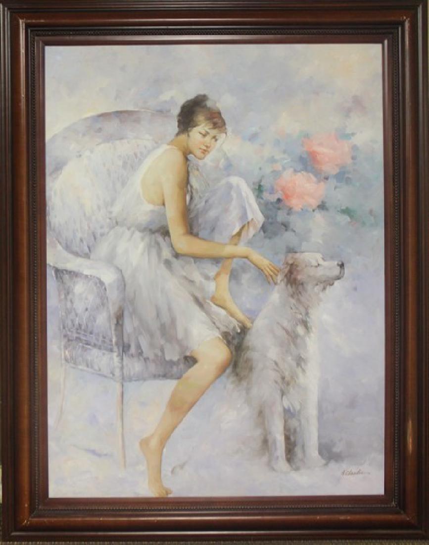 Original Painting by A. Claudie - 2
