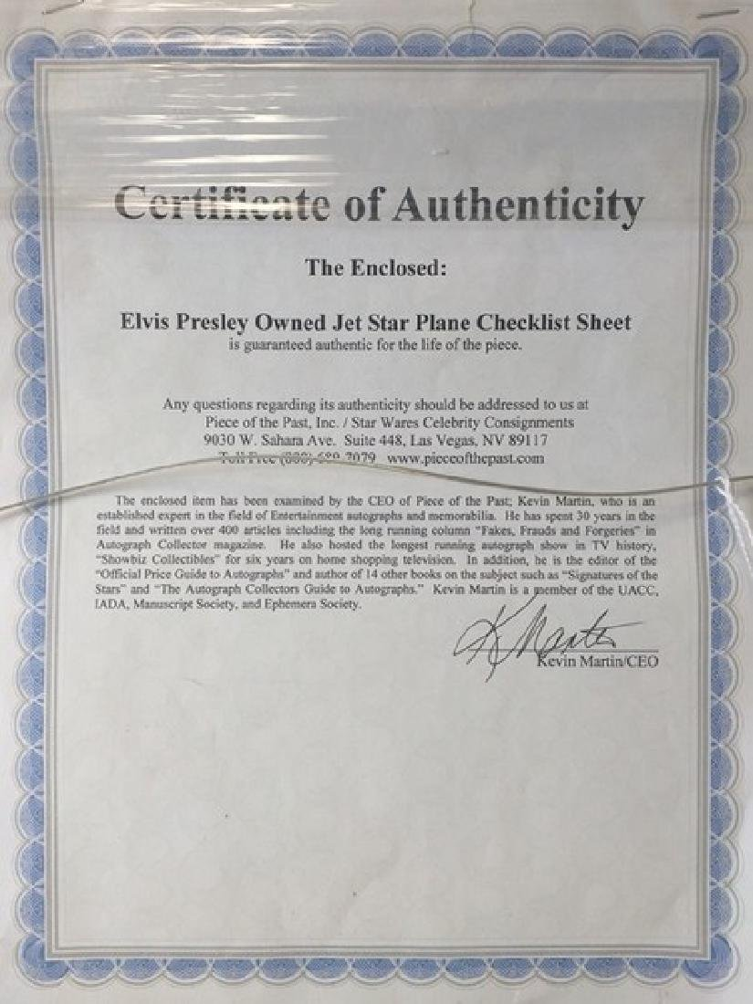 Elvis Presley - Authentic Signed Photo - 7