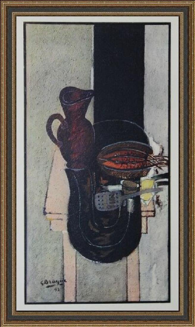 Lithograph Georges Braque - La Table De Cuisine