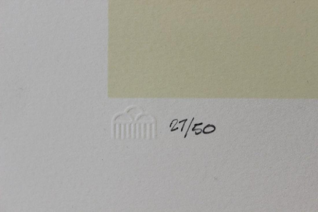 Hand Signed Ltd Ed Lithograph Robert Montoya - 3