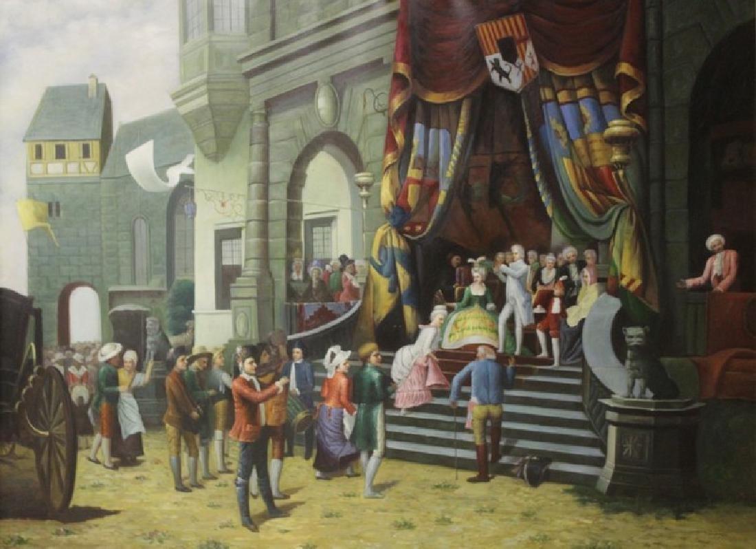 The Theatre - Original Painting - 2