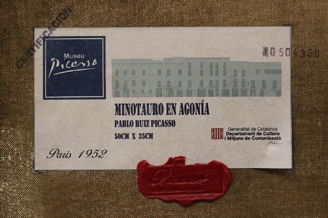 Minotauro en Agonia - Pablo Picasso - 5