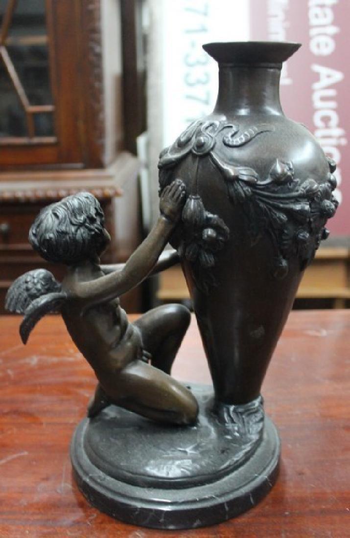Bronze Sculpture after Auguste Moreau - 4