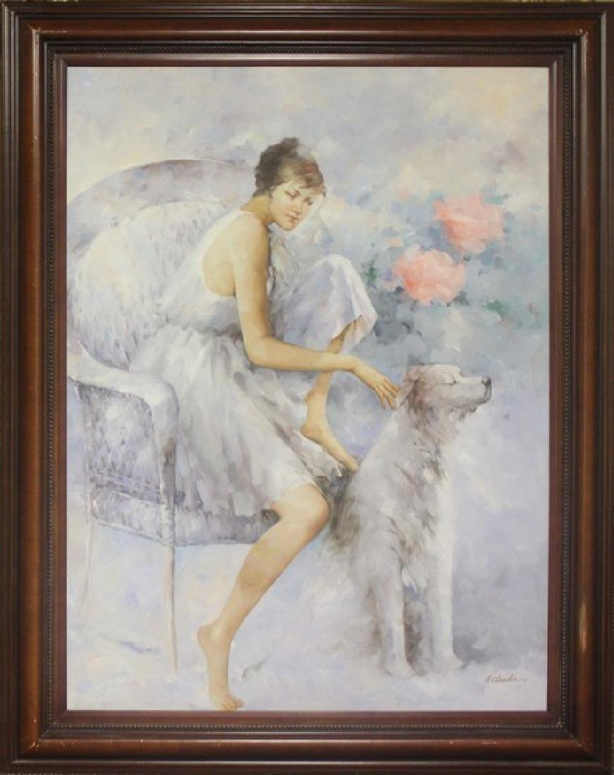 Original Painting by A. Claudie