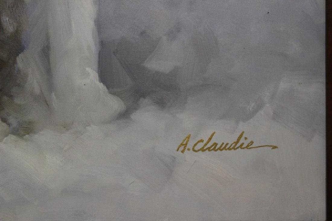 Original Painting by A. Claudie - 3