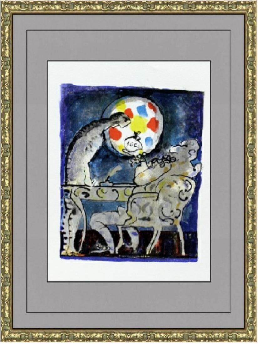 Original Lithograph by Jacques LaGrange