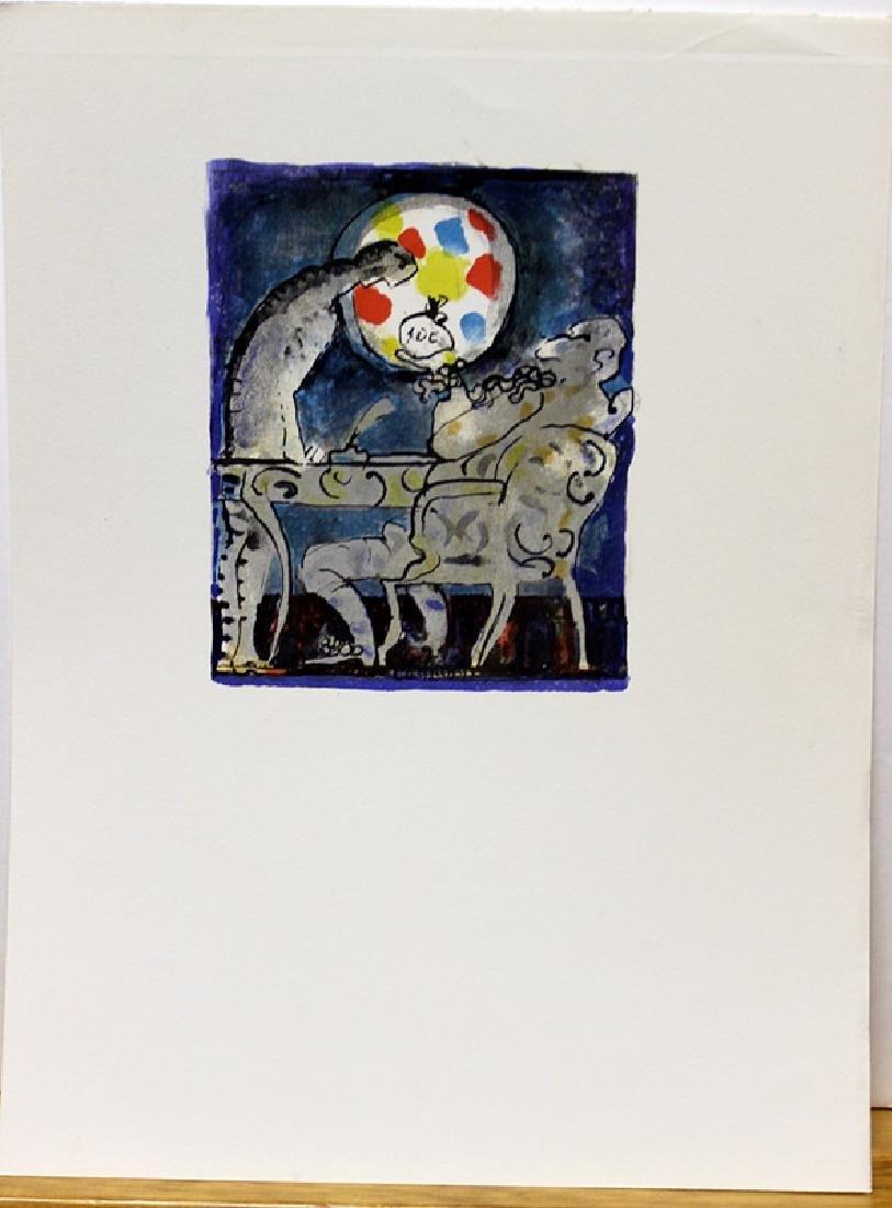 Original Lithograph by Jacques LaGrange - 2