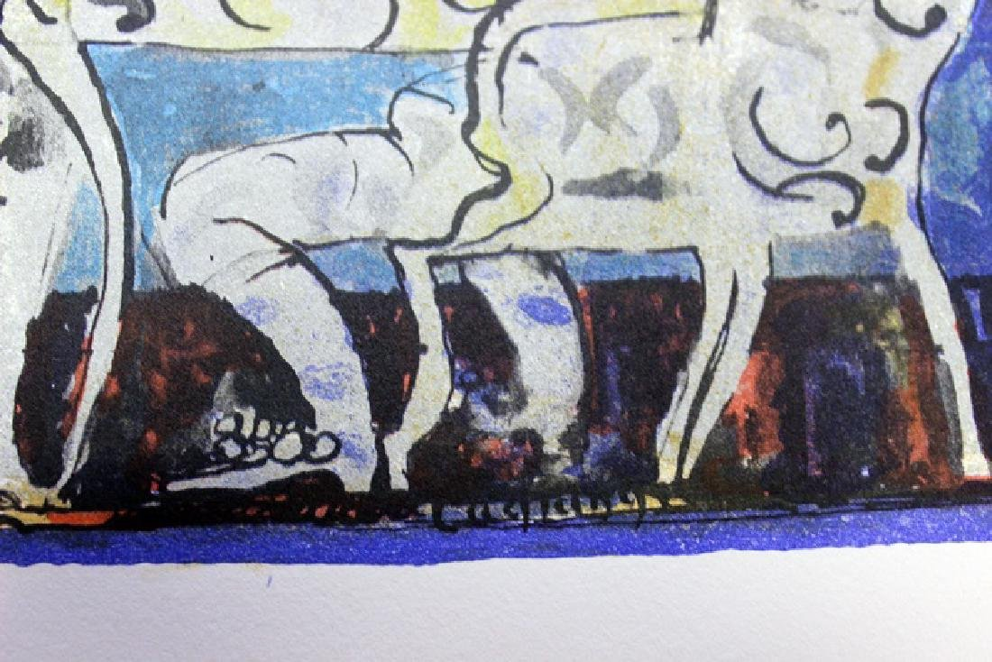 Original Lithograph by Jacques LaGrange - 3